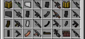 Nice Free Modern Weapons Pack Mod 1.7.10/1.7.2./1.6.4