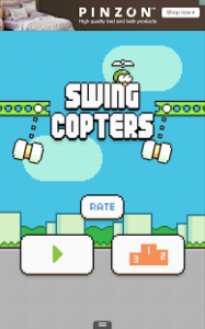Swing Copters1 187x300 Swing Copters Hile