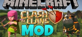 Minecraft Clash of Clans Mod 1.7.10/1.8.2