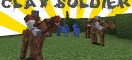 Minecraft New Clay Soldiers Mod 1.7.10/1.8.2 Download