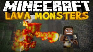 LavaMonsters 300x168 Minecraft 1.8.2 Lava Monsters Mod 1.7.10/1.6.4