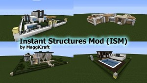 Minecraft Hile Instant Structures Mod 1
