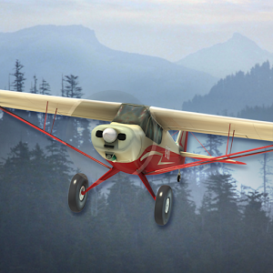 Airplane fly Bush Pilot v1.0 Hileli Apk indir