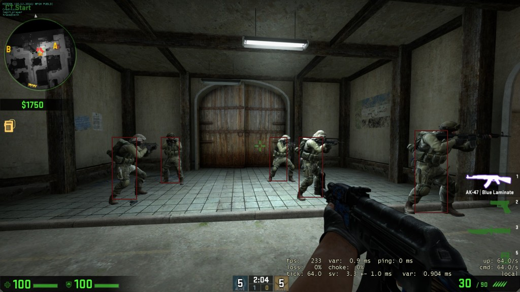 Counter Strike Csgo Hileleri  İnternal Enemy Gizli Esp v1.0