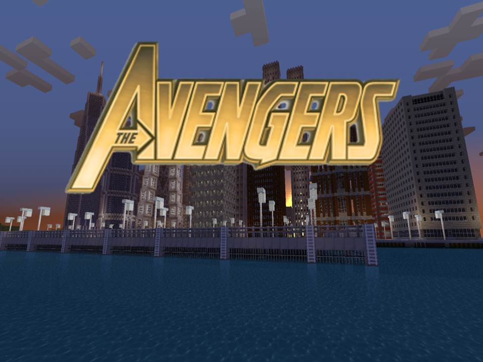 The Avengers Map MeGaDoSYa - Maps fur minecraft 1 8 9