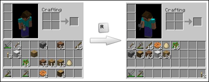Minecraft Modları Inventory Tweaks