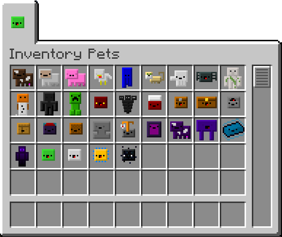 Inventory-pets