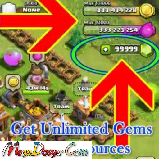 Unlimited Gems Clash of Clans hile apk mod