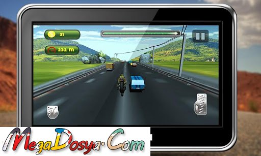 Highway Traffic Moto Racing