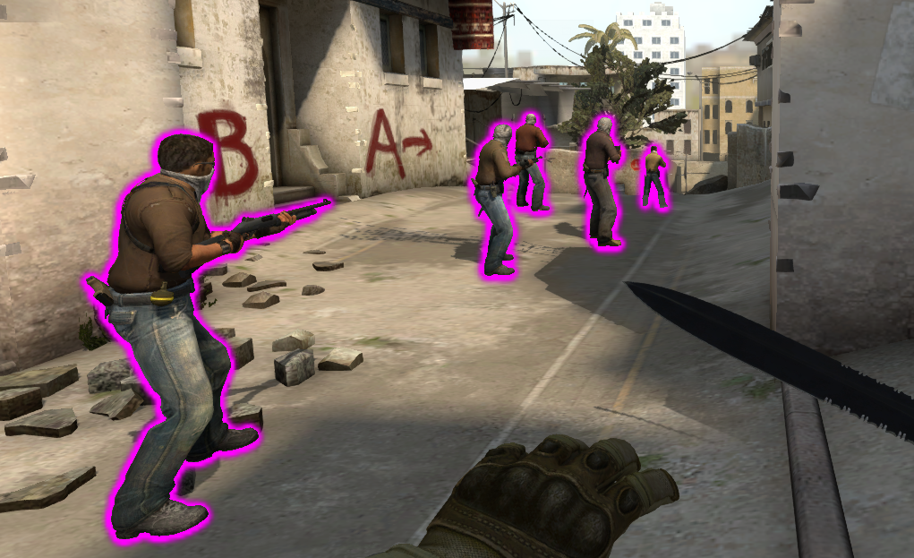 CS GO Counter Strike Hile Aurora Glow v1.4 indir