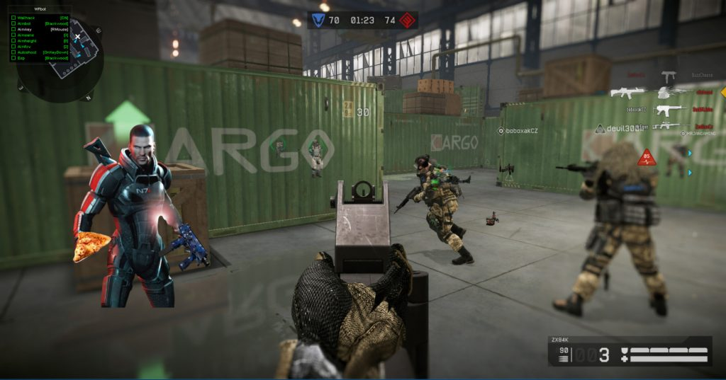 Warface Hile pizza (d3d) Multihack 12.07.2016 indir