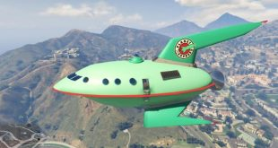 Gta 5 Hile Planet Express Ship Uzay Arac Modu