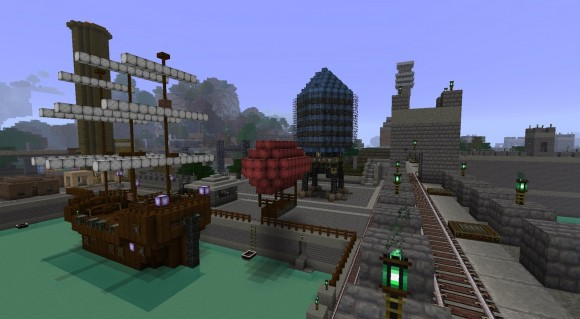 Steampunk-resource-pack