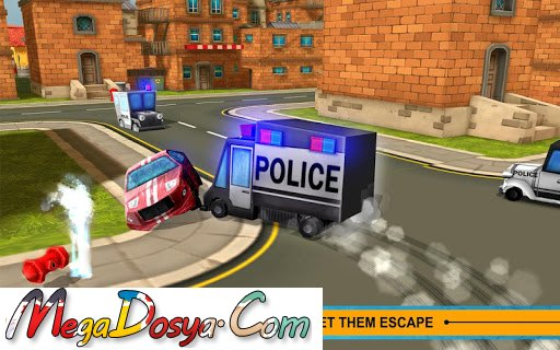 Blocky Cop Pursuit Terrorist