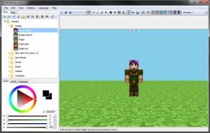 MCSkin3D Mod 1.8.2