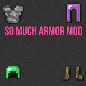 Minecraft New So Much Armor Mod
