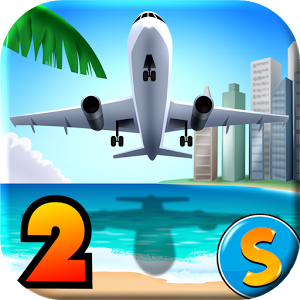 City Island Airport 2 v1.1.8 Para Mod Hile Apk indir
