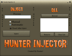 injektör 300x232 CrossFire Hunter injector v1.0 Hile Botu indir