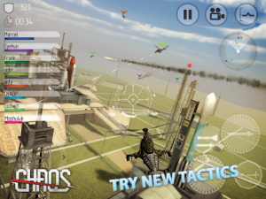 CHAOS Combat Copters HD v6.6.0 Android Hile Mod APK indir