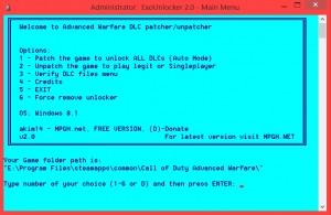 Call of Duty Hile ExoUnlocker 2.0 indir