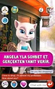 Konuşan Angela v2.4 Mod Hileli indira