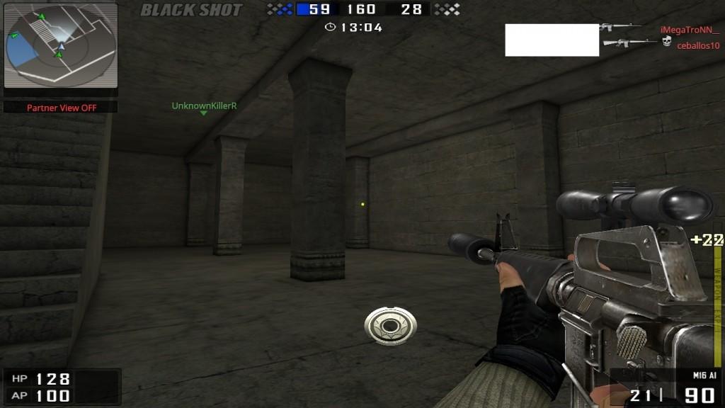 BlackShot Hileleri Dance Blade v1.0 M16A1 indir