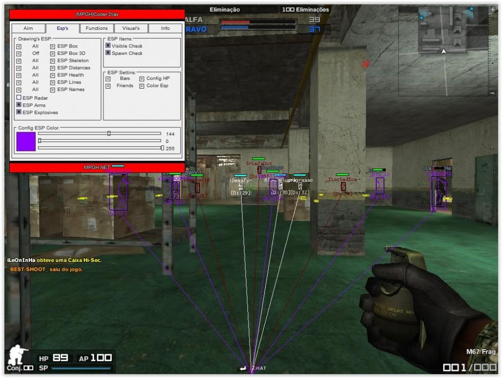 Combat Arms Hile Coder Dias v2.0 indir