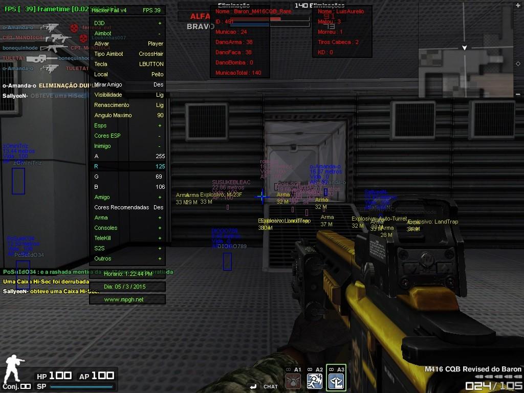 Combat Arms Hile Hacker Fail v4.0 Multihack indir