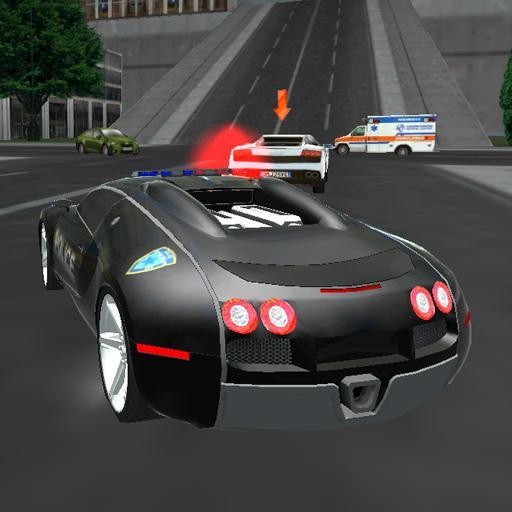 Çılgın Sürücü Polis Vazife 3D apk indir