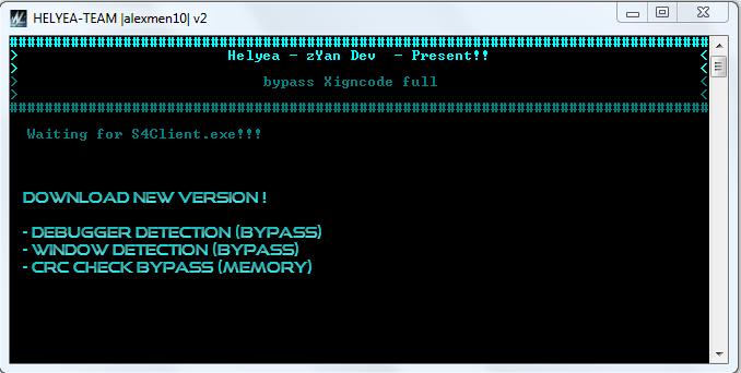 S4 League Hileleri Xigncode Full Bypass  indir