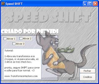 speed shift foto