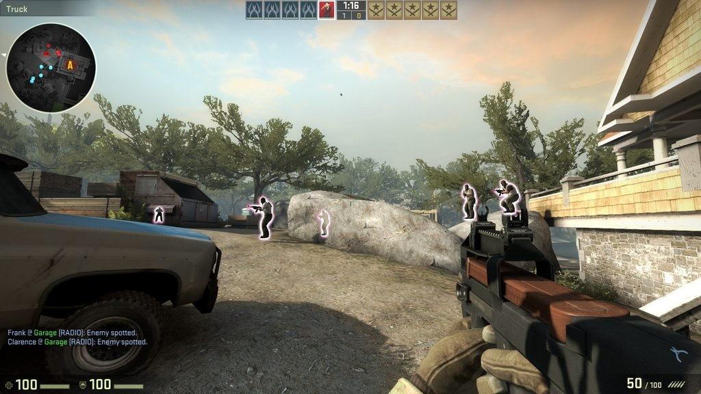 CSGO Counter Strike Hile Glow ESP v8.2 Oyun Botu Yeni Versiyon indir