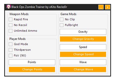 Call of Duty 7 - Black Ops Hileleri Zombi Trainer Oyun Botu