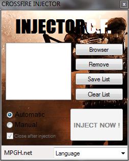 CrossFire Simple Dll Hile injektör v1.0 indir