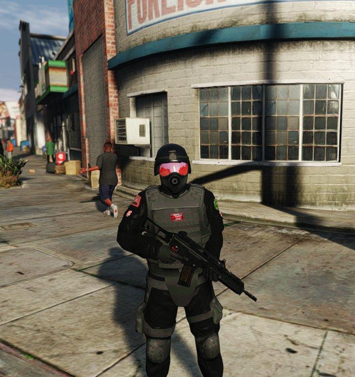 GTA Hileleri Umbrella Corporation Soldiers Modu