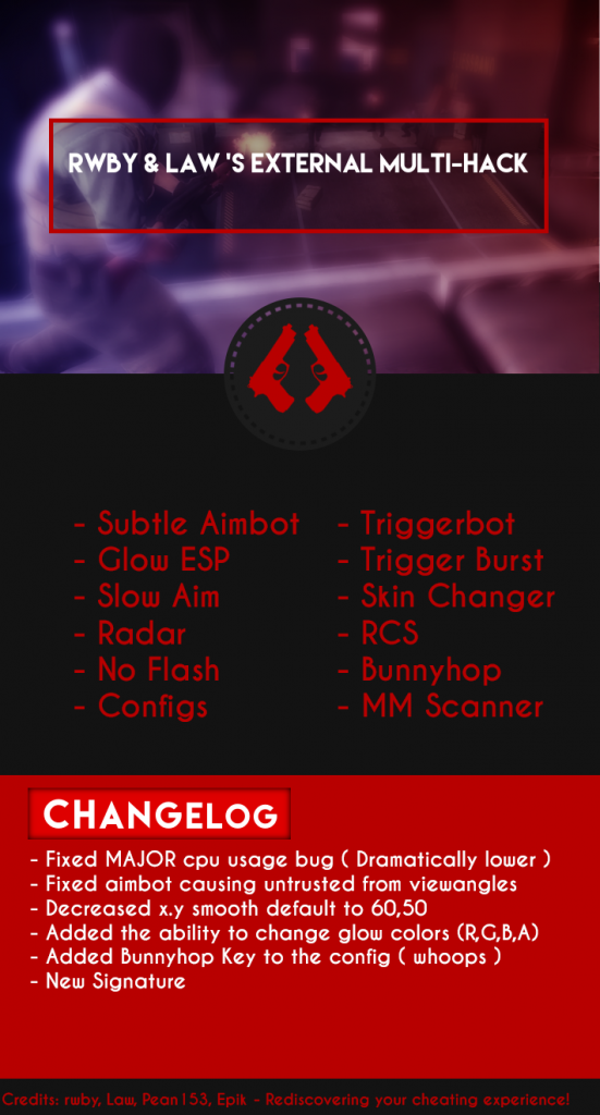 Csgo Hileleri Counter Strike  External MultiHack v1.2 indir