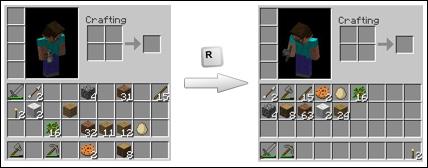 Minecraft Modları Inventory Tweaks