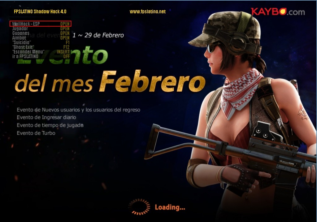 Point Blank Hile Shadow MultiHack 4.0