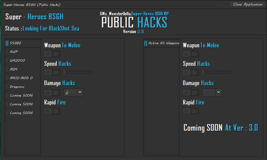 Blackshot Hileleri BSGH Loaders  Multihack v2.0 Yenilendi
