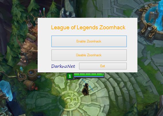 League of Legends Hileleri Zoomhack 6.7