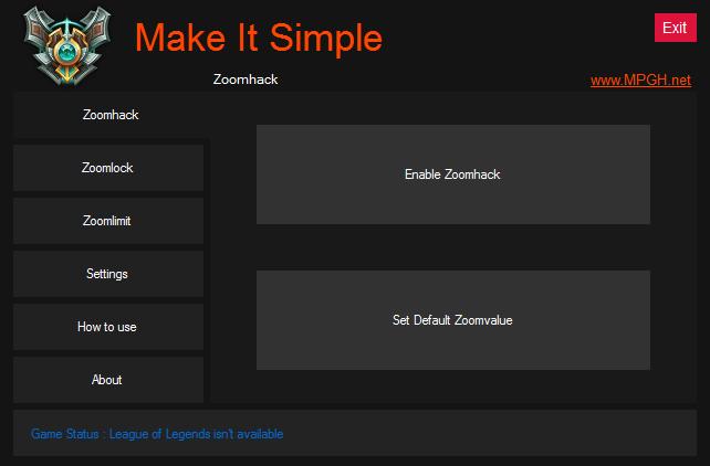 League of Legends Zoomhack v3.1 Hileleri Yeni Versiyon indir
