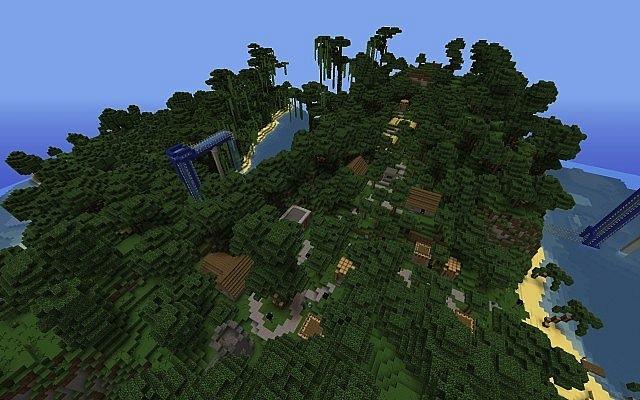 Minecraft Hileleri Hillside Manor Map 1.9.2