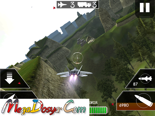 Airplane Flight Battle 3D