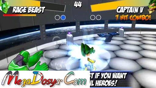 Dövüş Oyunları Superheros