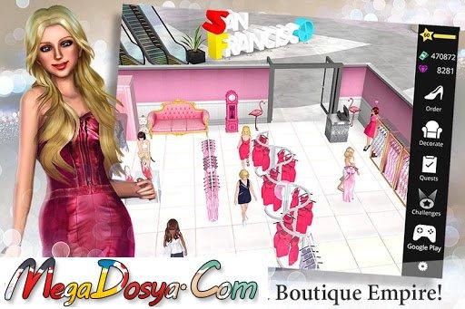 Fashion Empire – Boutique Sim v2 24 1 Mod Apk Android Oyun