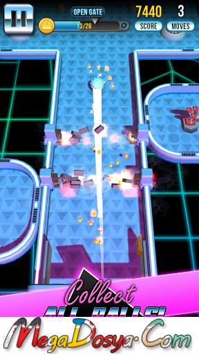 Retro Shot Pinball Puzzle Game