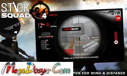 Stick Squad 4 - Sniper's Eye