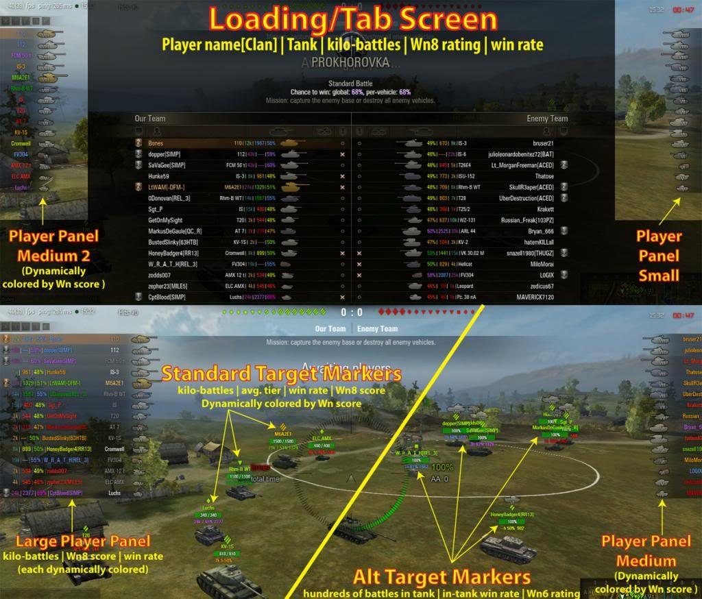 0.9.15.1 XVM Config by Bones World Of Tanks Hile