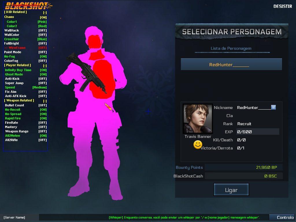 BlackShot Hile Red Hunter D3D Multihack 17.07.2016 indir