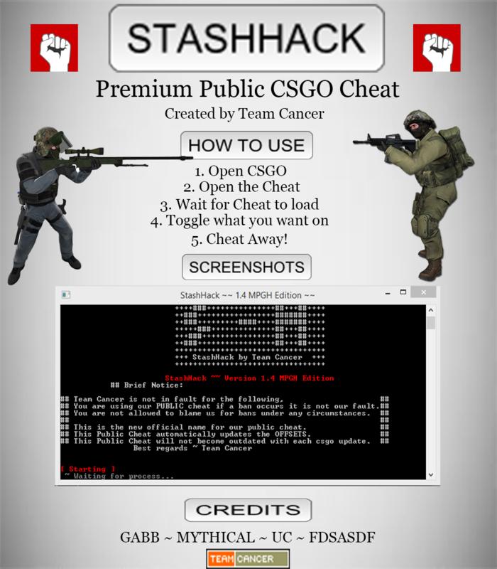 CSGO Counter Strike Hile GLOW RADAR BHOP indir